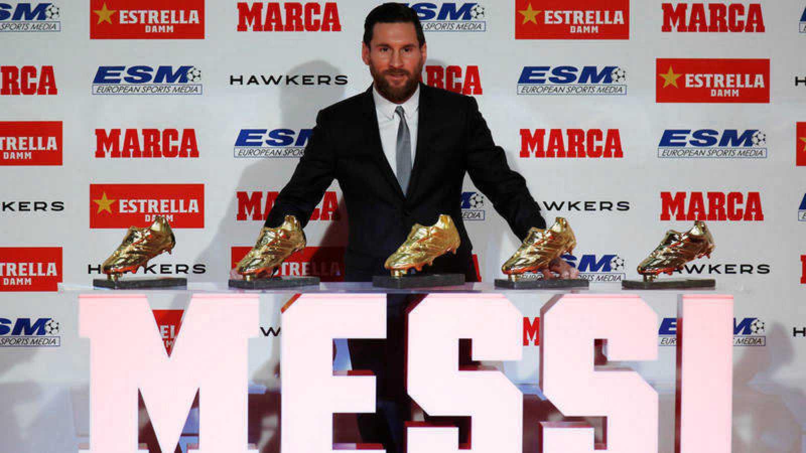 envío directo envío directo precios de liquidación Messi logra su sexta Bota de Oro - RTVE.es