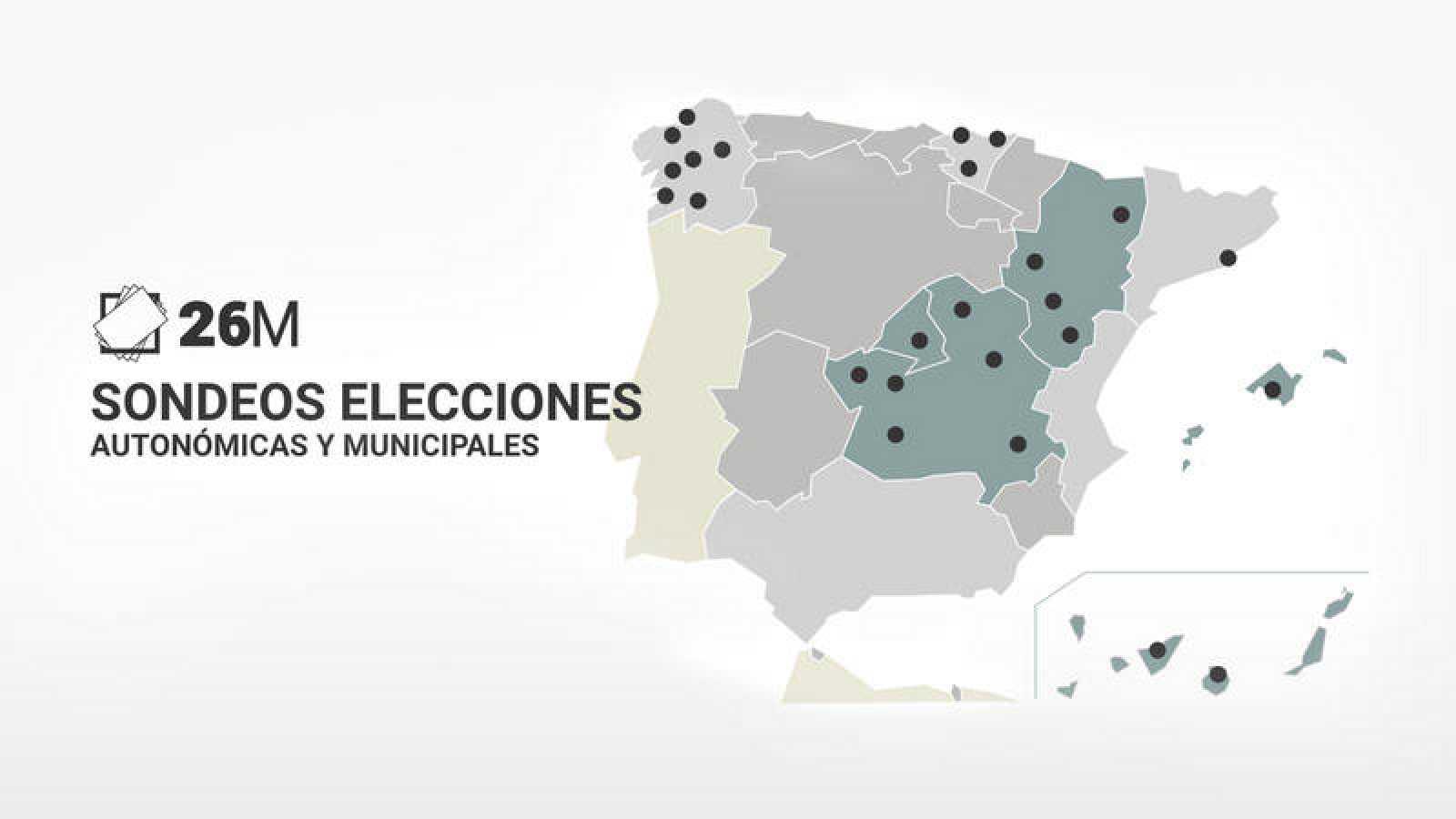 El PSOE mantiene el gobierno en Castilla-La Mancha, Baleares y Aragón y lo ganaría en la Comunidad de Madrid, según sondeos