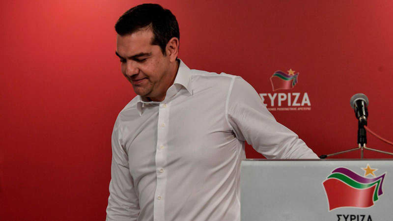 El primer ministro de Grecia,Alexis Tsipras