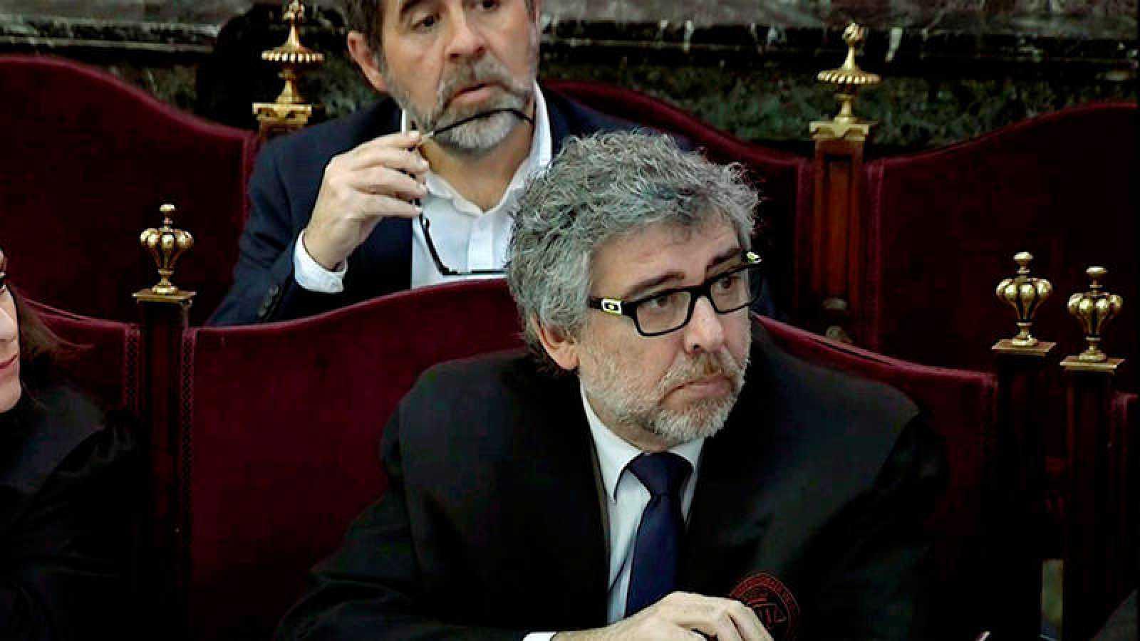 Jordi Pina, abogado de Jordi Turull, Josep Rull y Jordi Sánchez