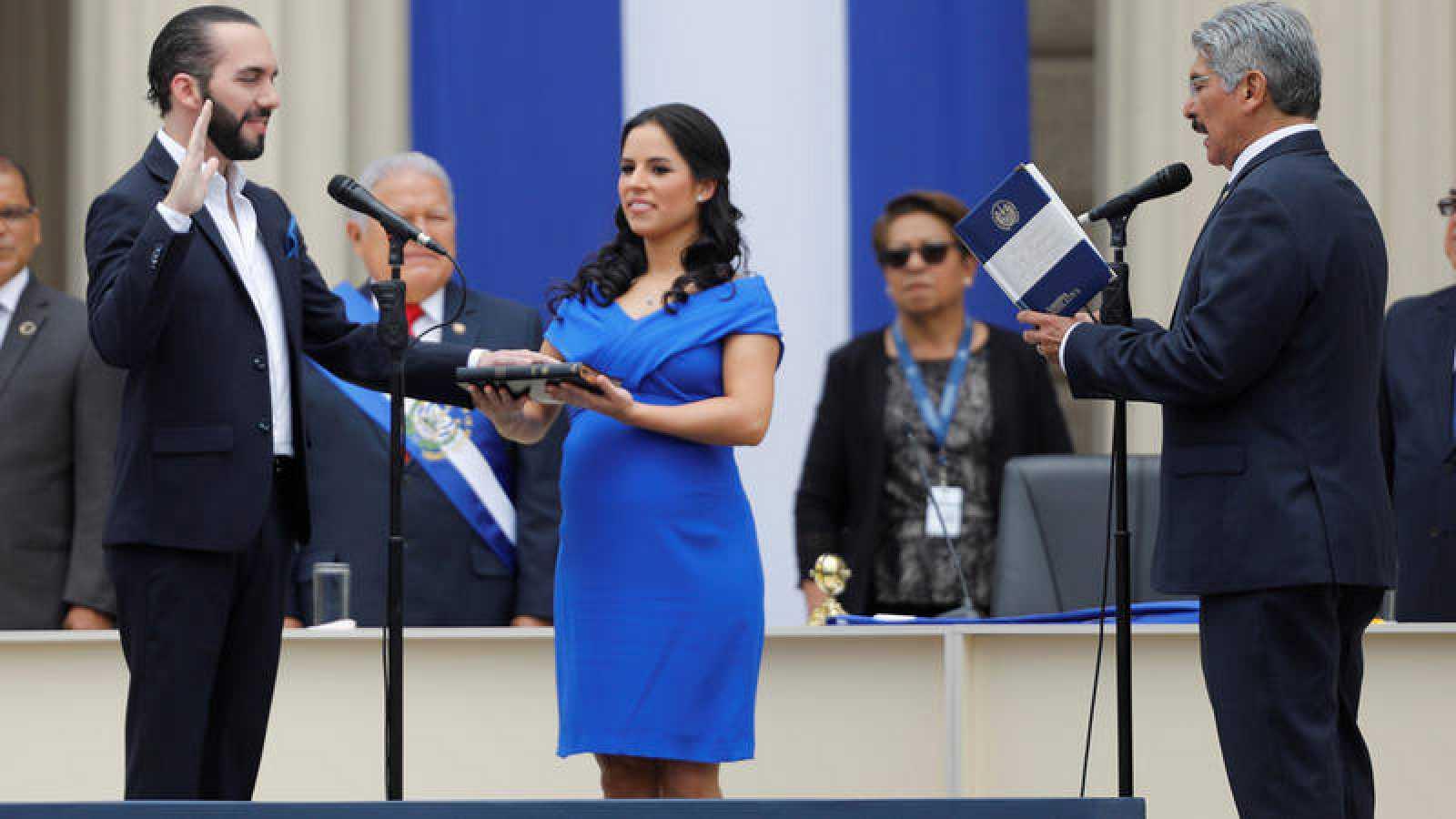 Nayib Bukele jura como presidente de El Salvador