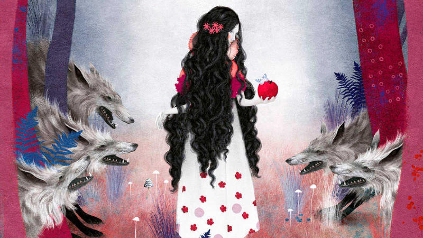 Francesca Dell Orto Ilustra La Blancanieves De Los