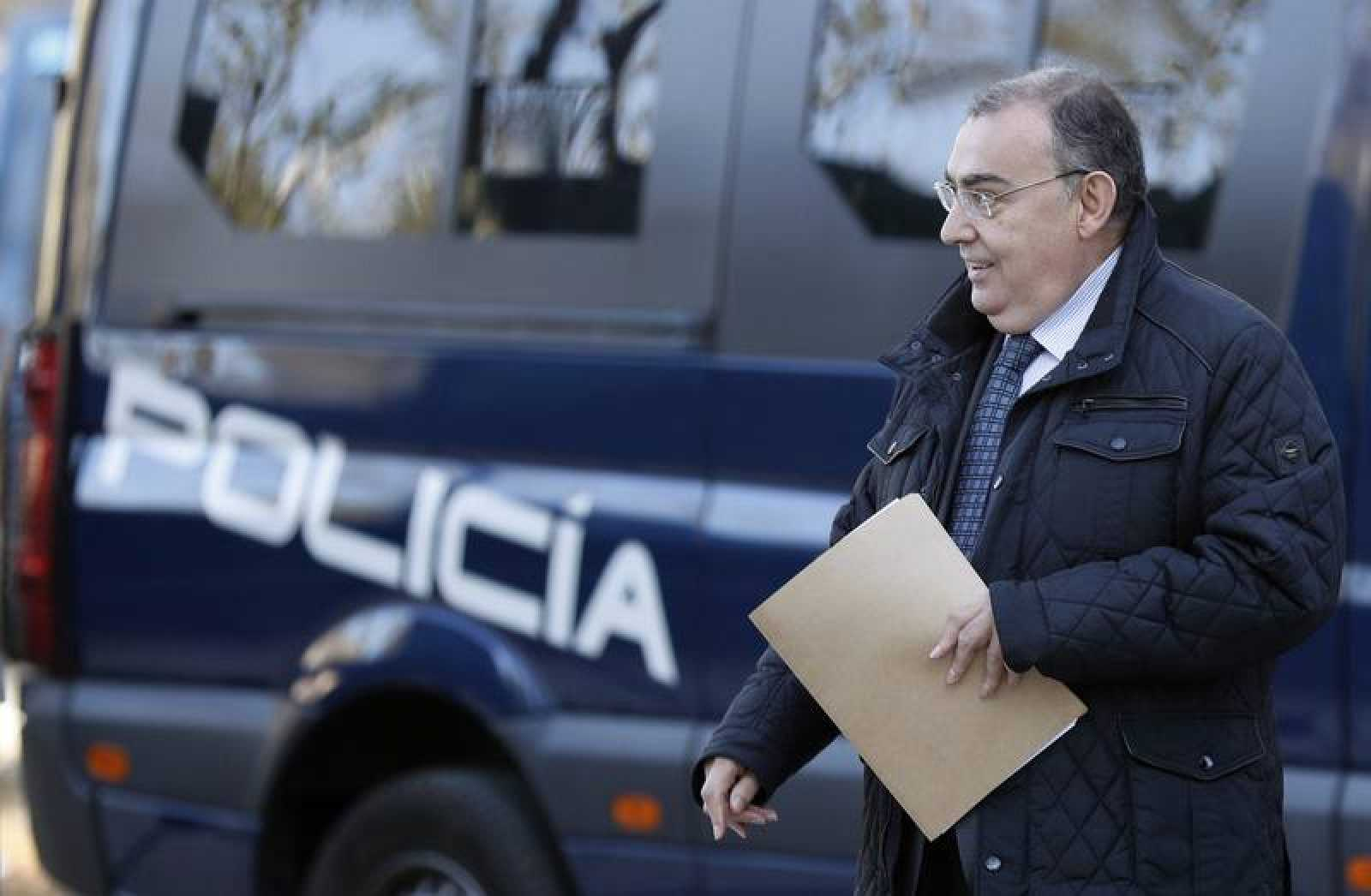 Enrique García Castaño, exjefe de la Unidad Central de Apoyo Operativo (UCAO) de la Policía.