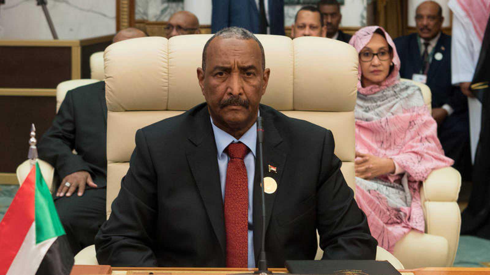 El presidente del Consejo Militar Transitorio de Sudán, Abdelfatah Burhan
