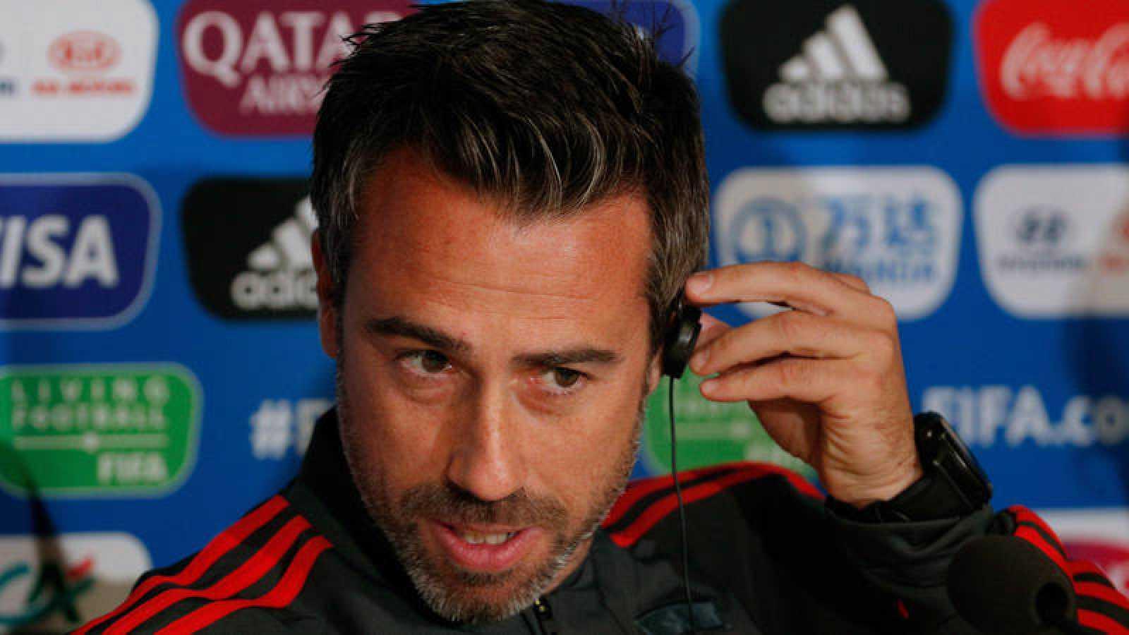 """Jorge Vilda: """"Hemos venido a hacer historia, queremos estar a la altura de Alemania"""""""