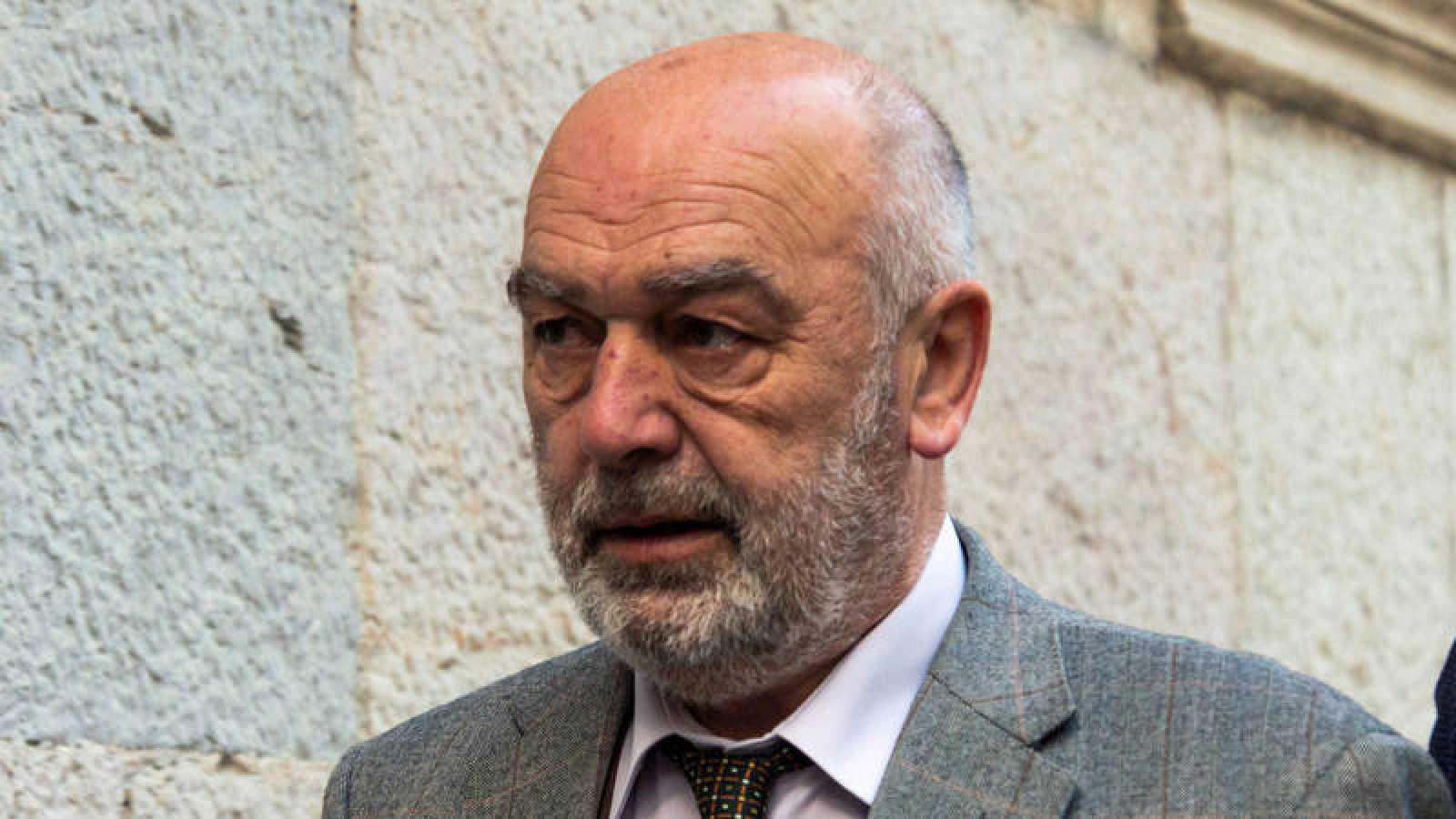 El juez Miquel Florit, instructor del 'caso Cursach', antes de comparecer como investigado ante el Tribunal Superior de Justicia de Baleares
