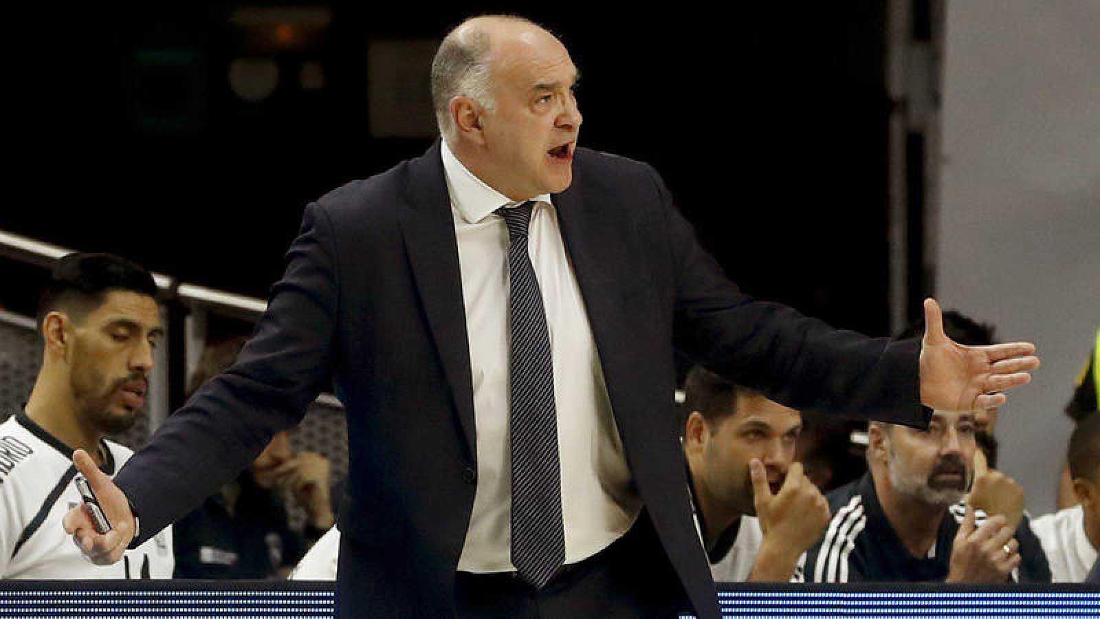 El técnico del Real Madrid de baloncesto, Pablo Laso.