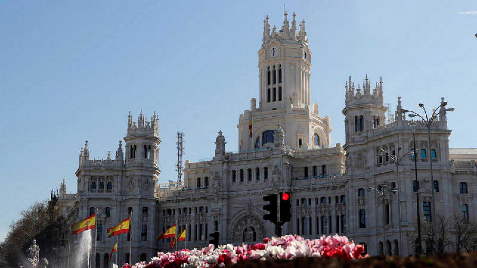 Palacio de Cibeles de Madrid, sede del Ayuntamiento de la ciudad