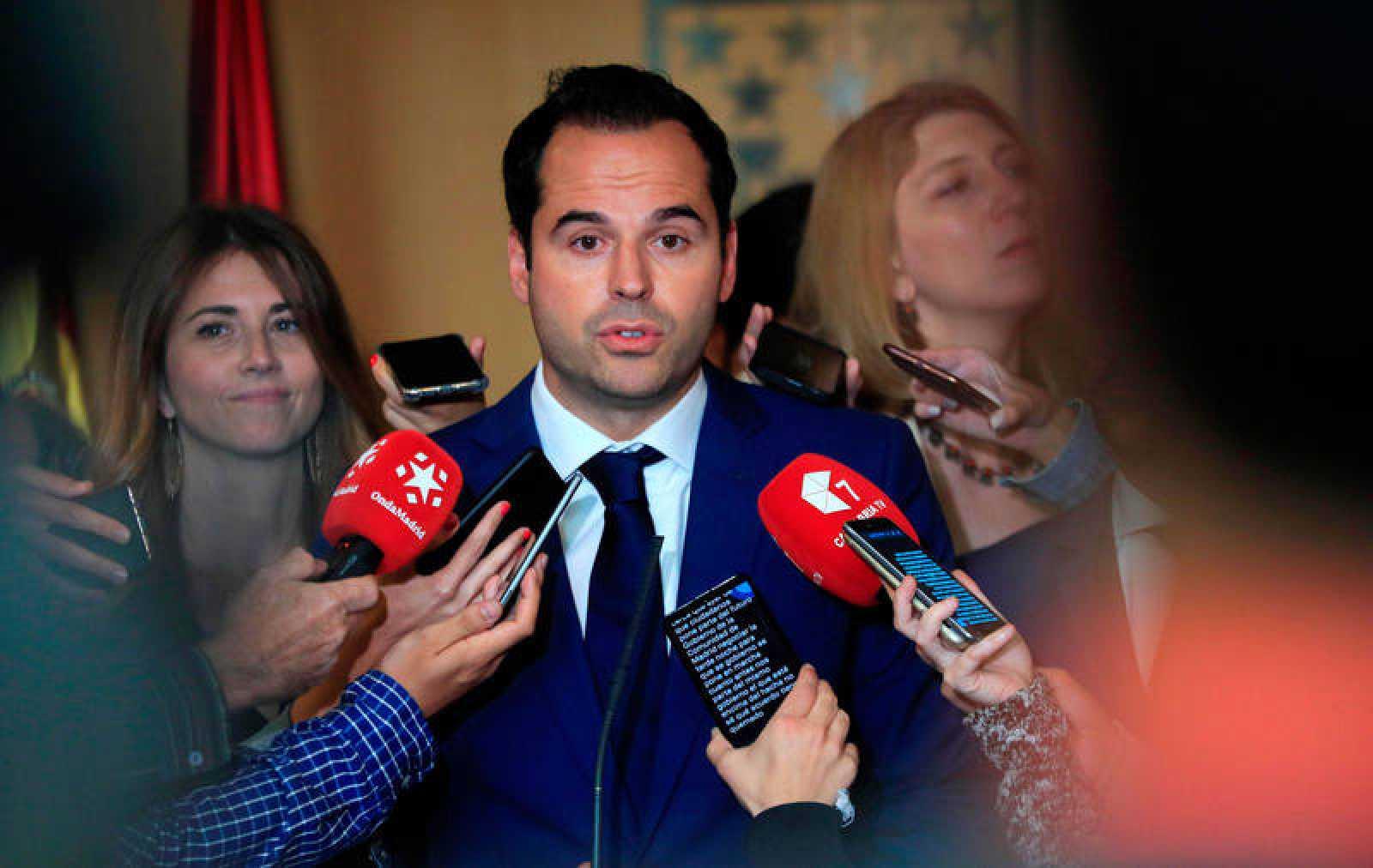 Imagen de archivo del candidato de Ciudadanos a la Presidencia de la Comunidad de Madrid, Ignacio Aguado.