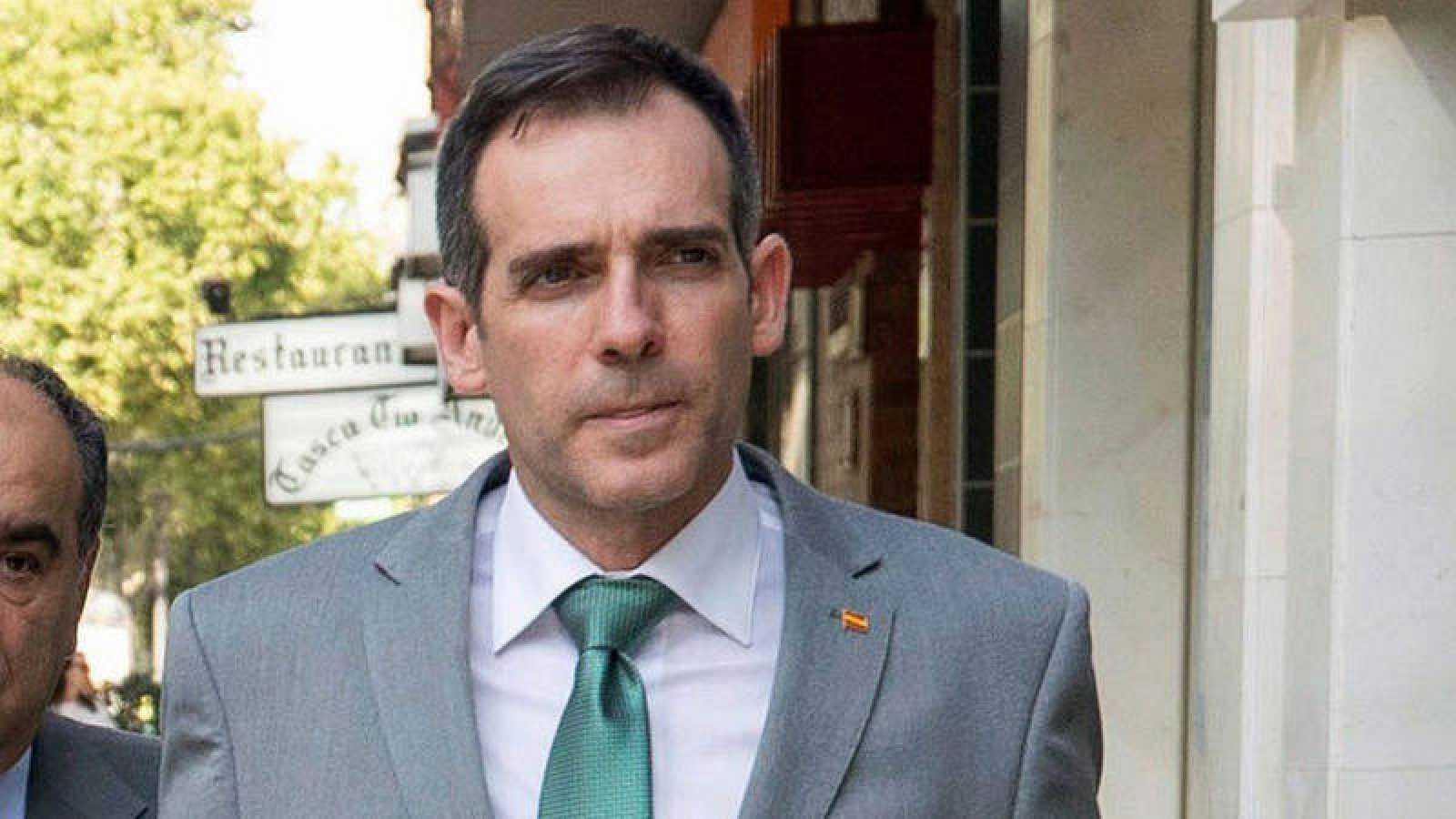 El portavoz de Vox en la Asamblea Regional de Murcia, Juan José Liarte.