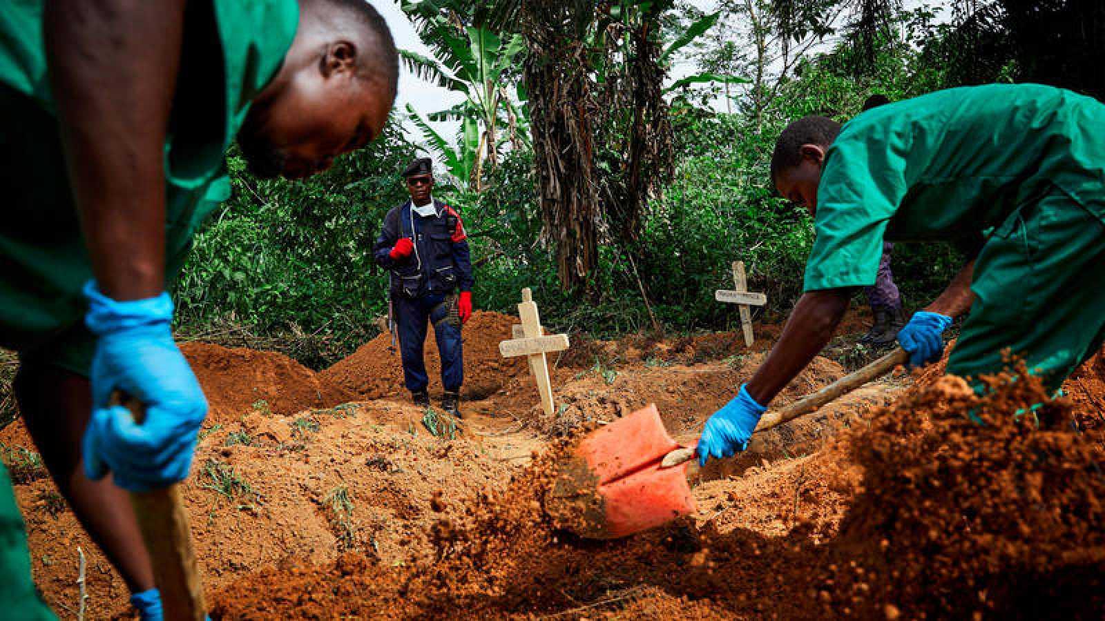 El ébola deja ya 1.596 muertos en el este de República Democrática del Congo