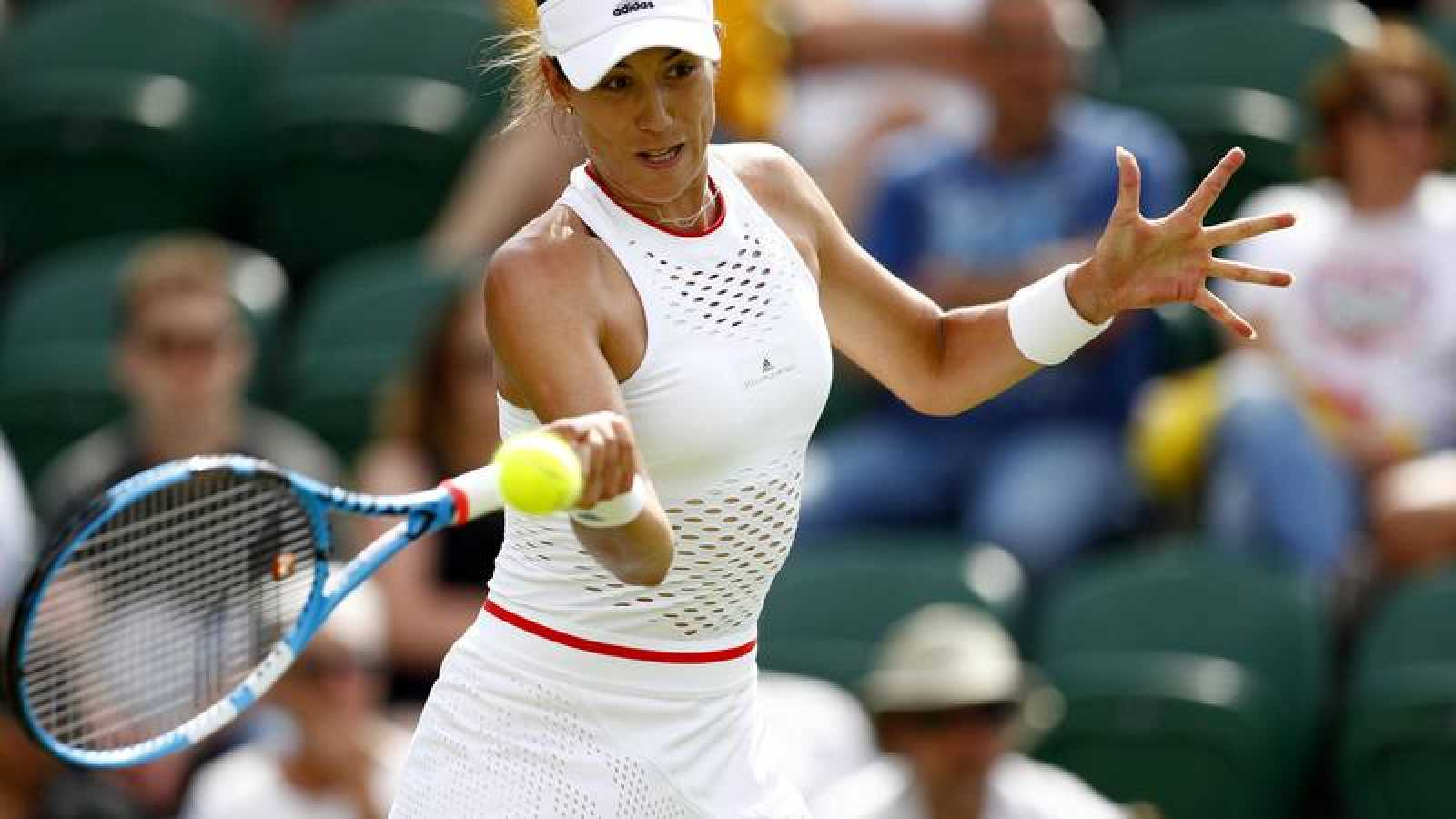 Amargo debut de Garbiñe en Wimbledon