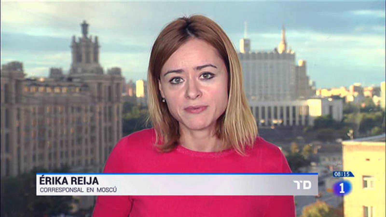 Erika Reija López, corresponsal de RNE en Moscú