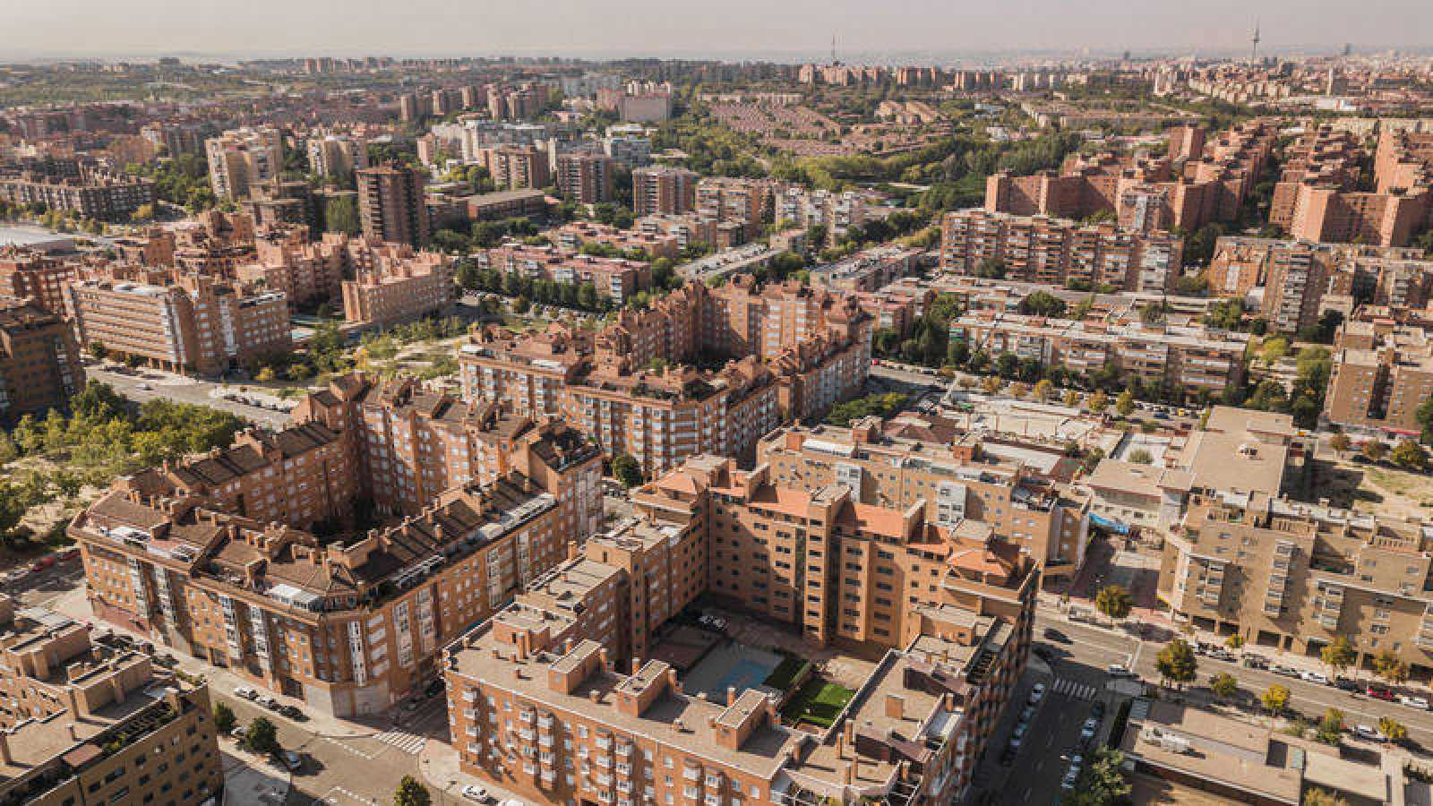 Imagen de la ciudad de Madrid