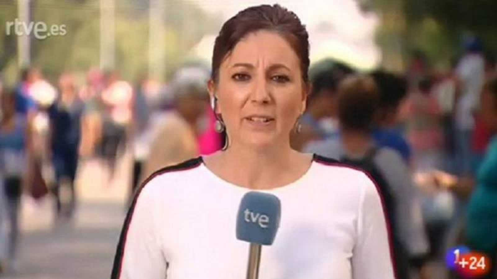 Sagrario G. Mascaraque, corresponsal de RNE en Buenos Aires