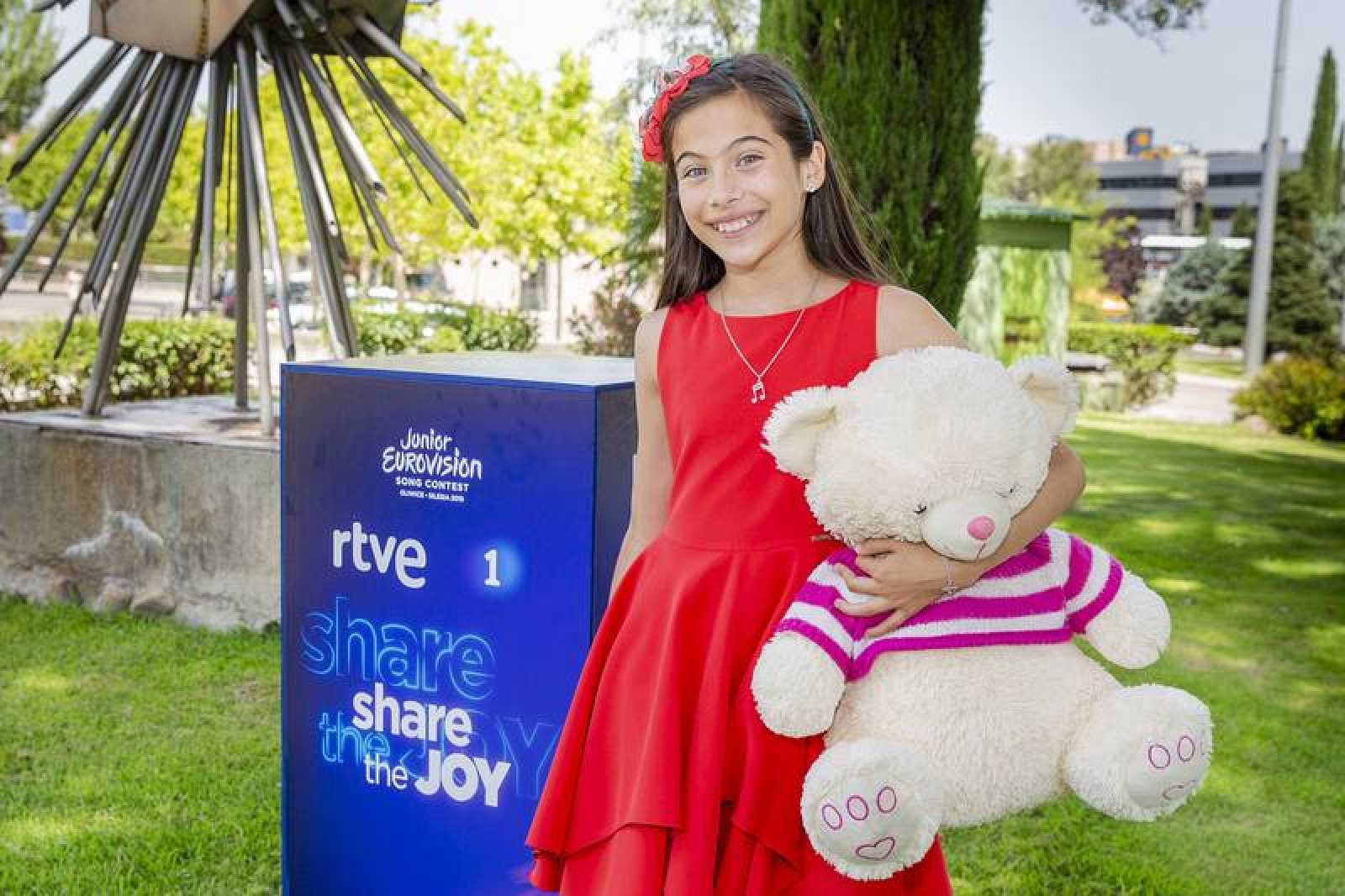 Melani representará a España en Eurovisión Junior 2019