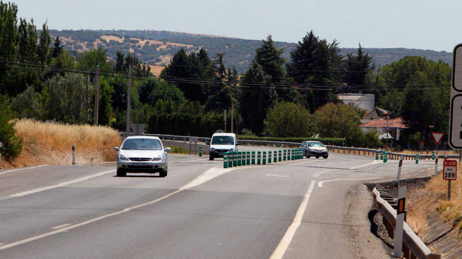 Imagen de archivo de una carretera de Ciudad Real