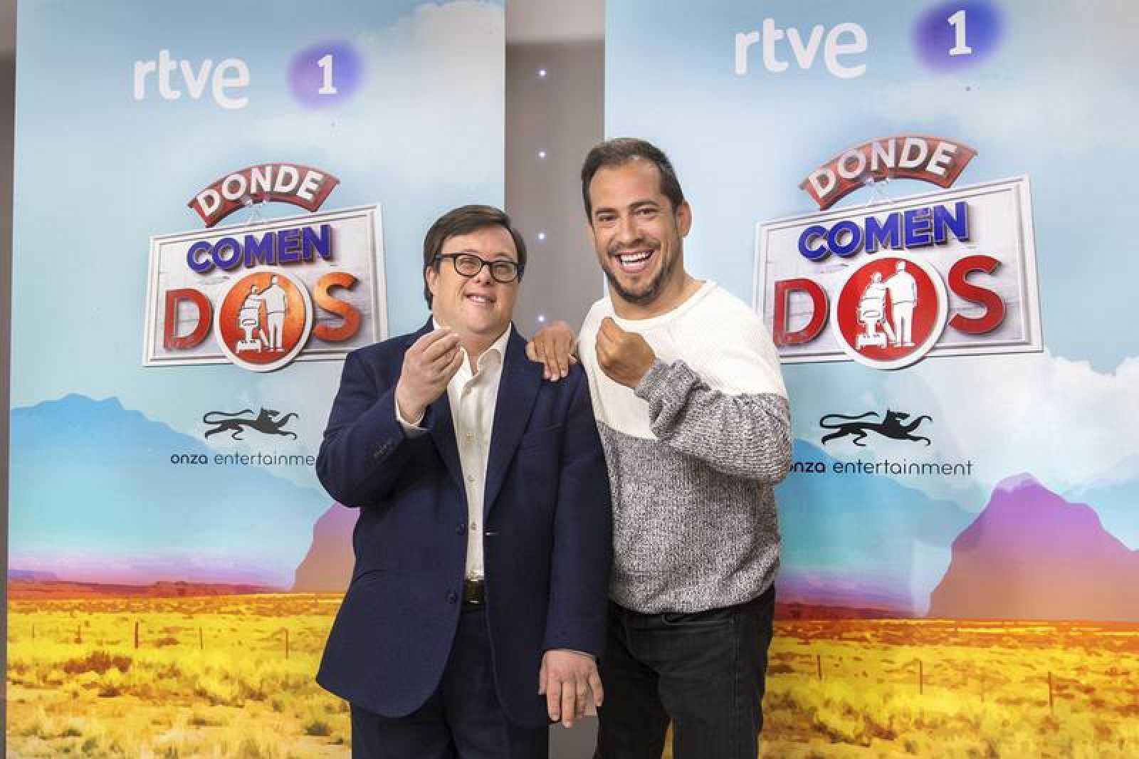 Pablo Pineda y El Langui en 'Donde comen dos'