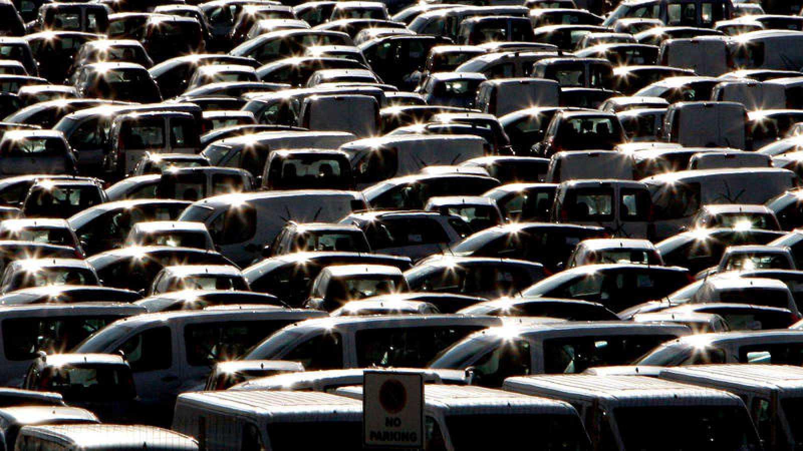 Las matriculaciones de vehículos siguan a la baja en julio