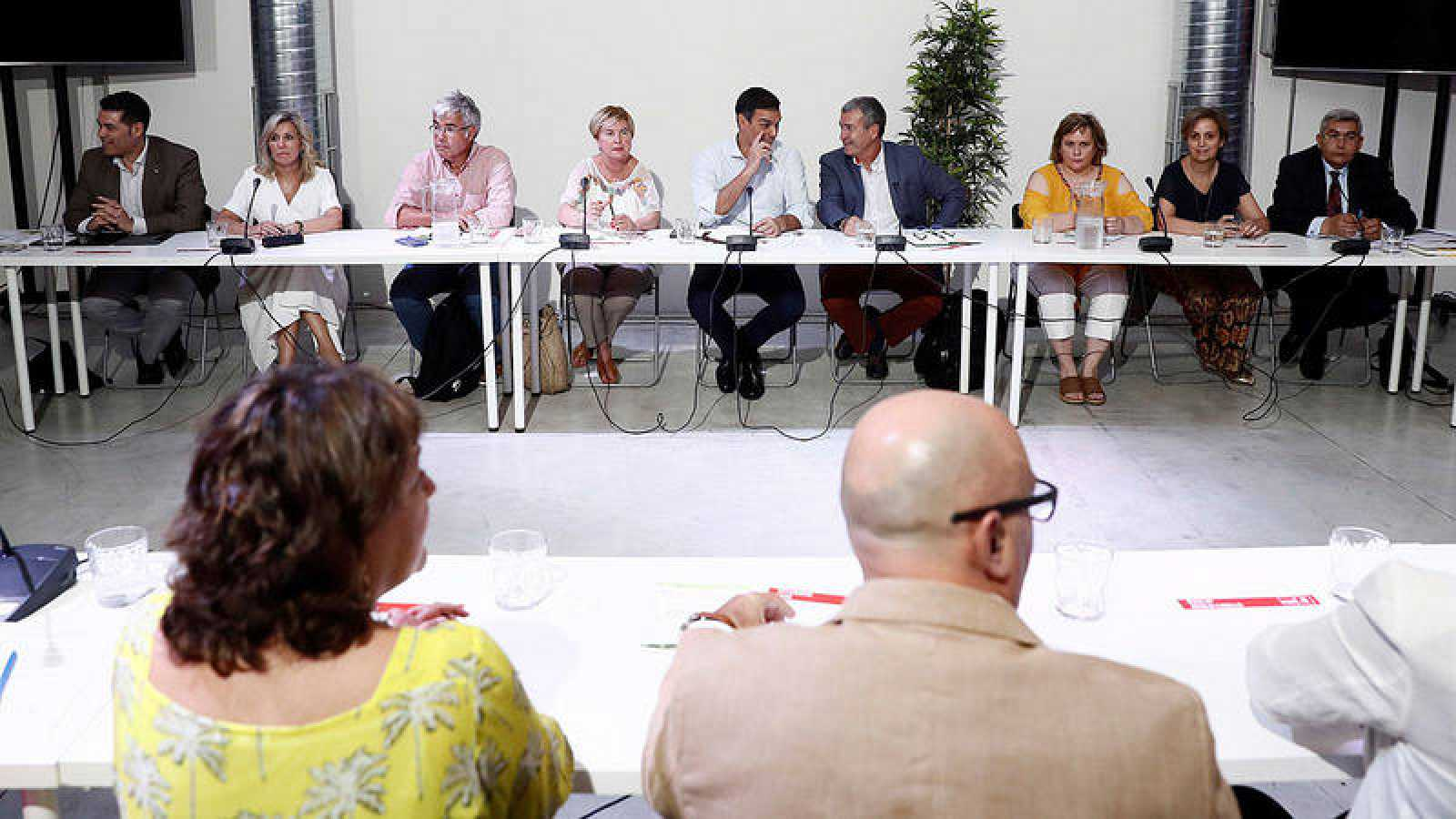 Pedro Sánchez se ha reunido con plataformas contra la despoblación