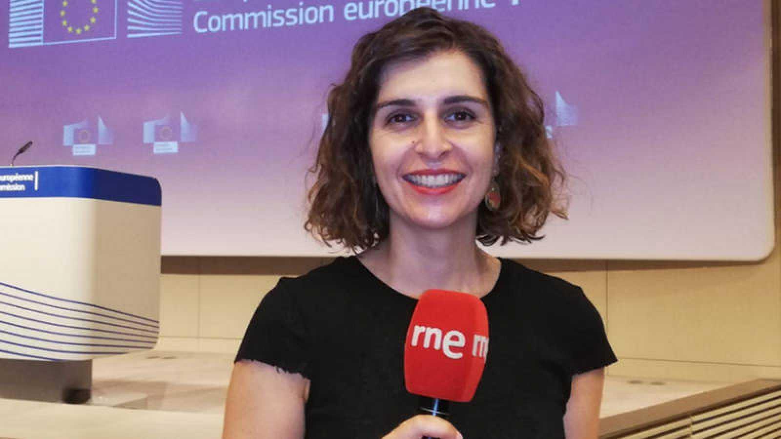 María Carou, corresponsal de RNE en Bruselas