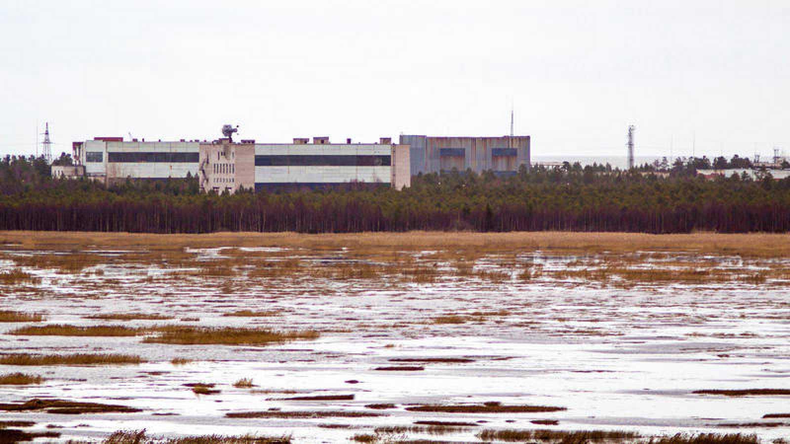 Base militar rusa de Nyonoska en el norte de Rusia