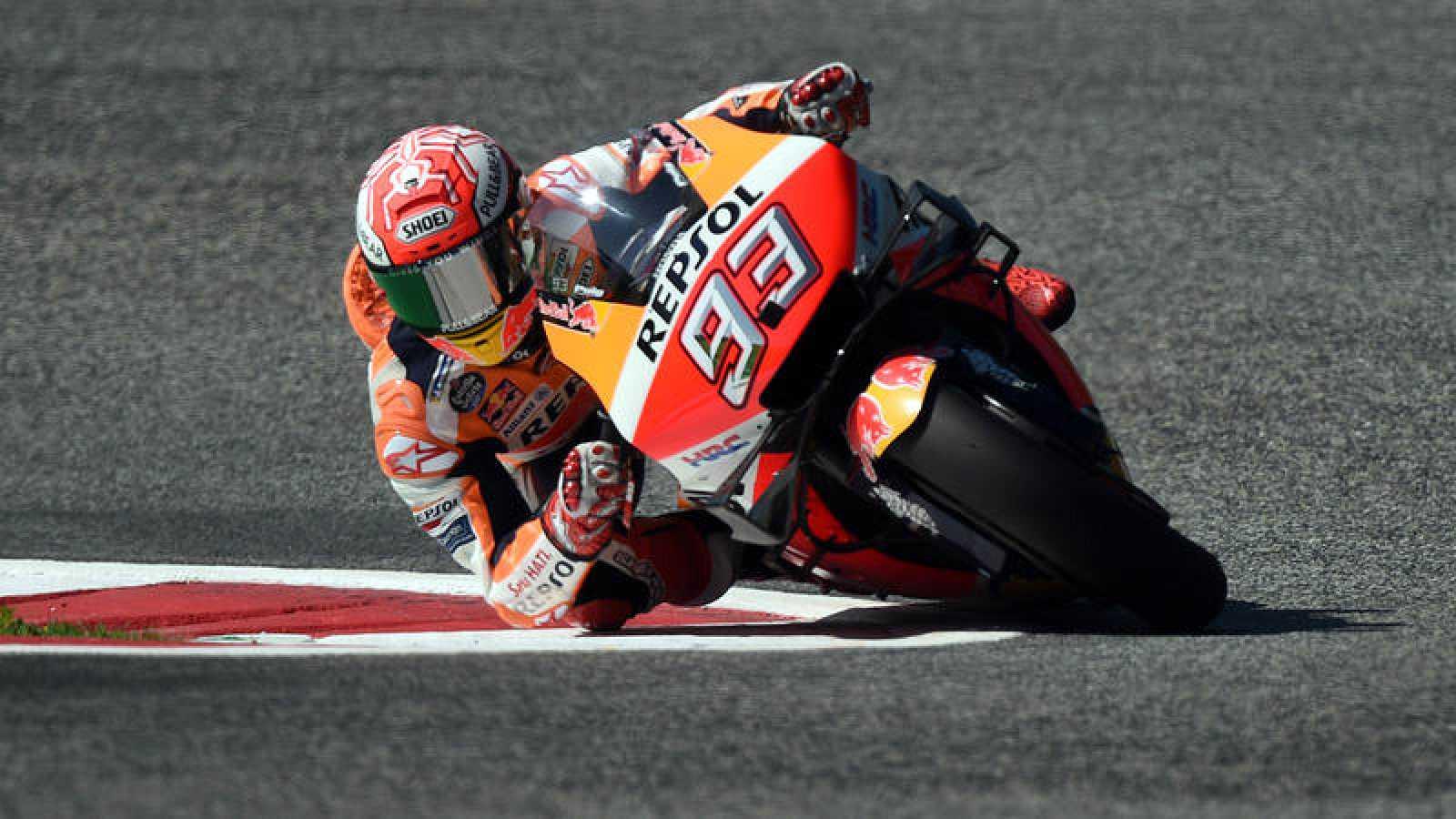 Marc Márquez, en los entrenamientos libres del GP de Austria.