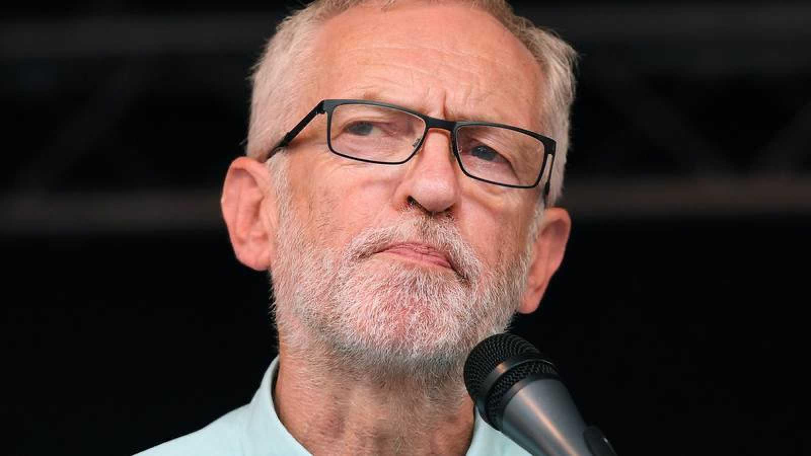 El líder laborista británico Jeremy Corbyn
