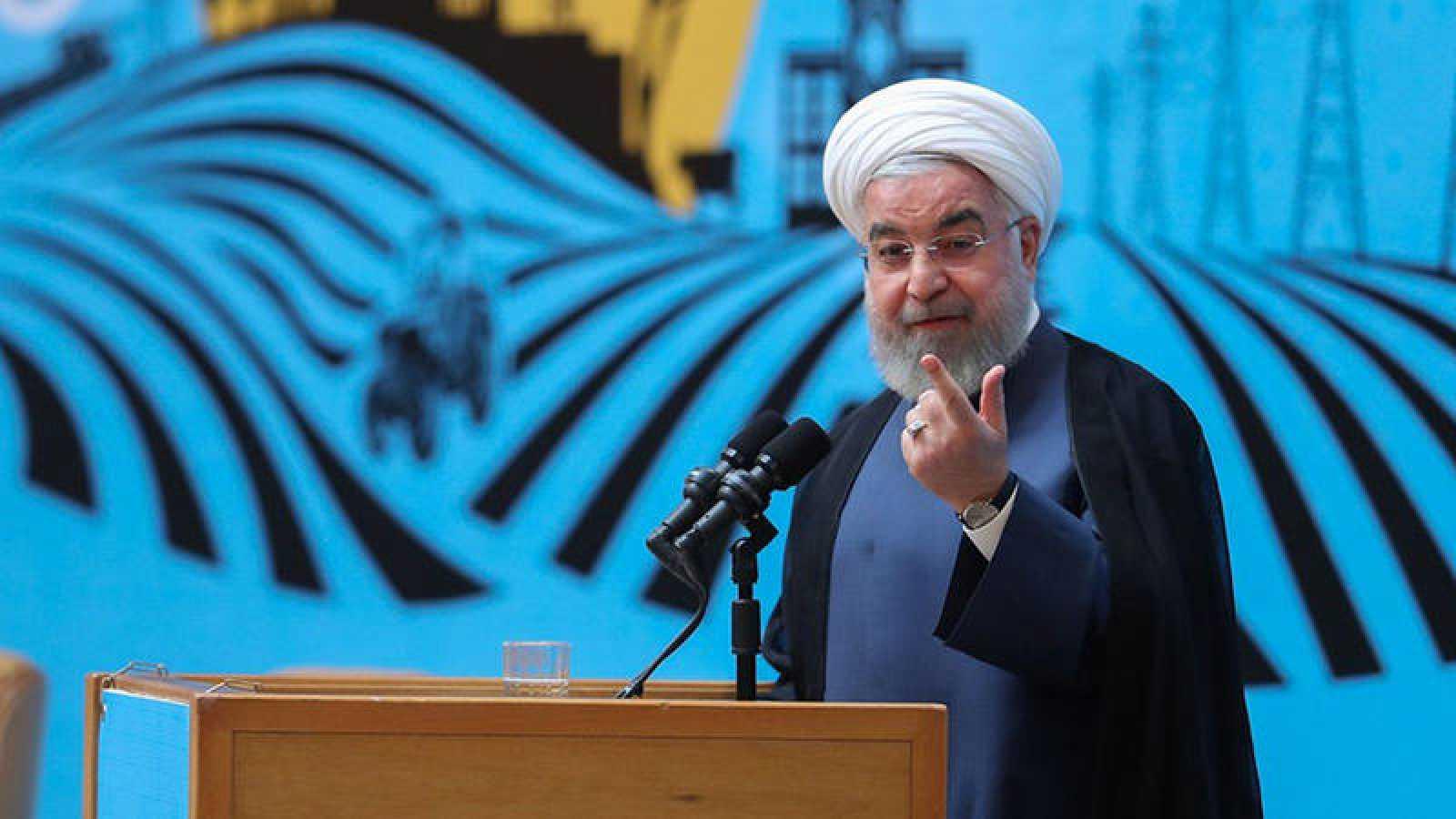 El presidente de Irán, Hasan Rohaní