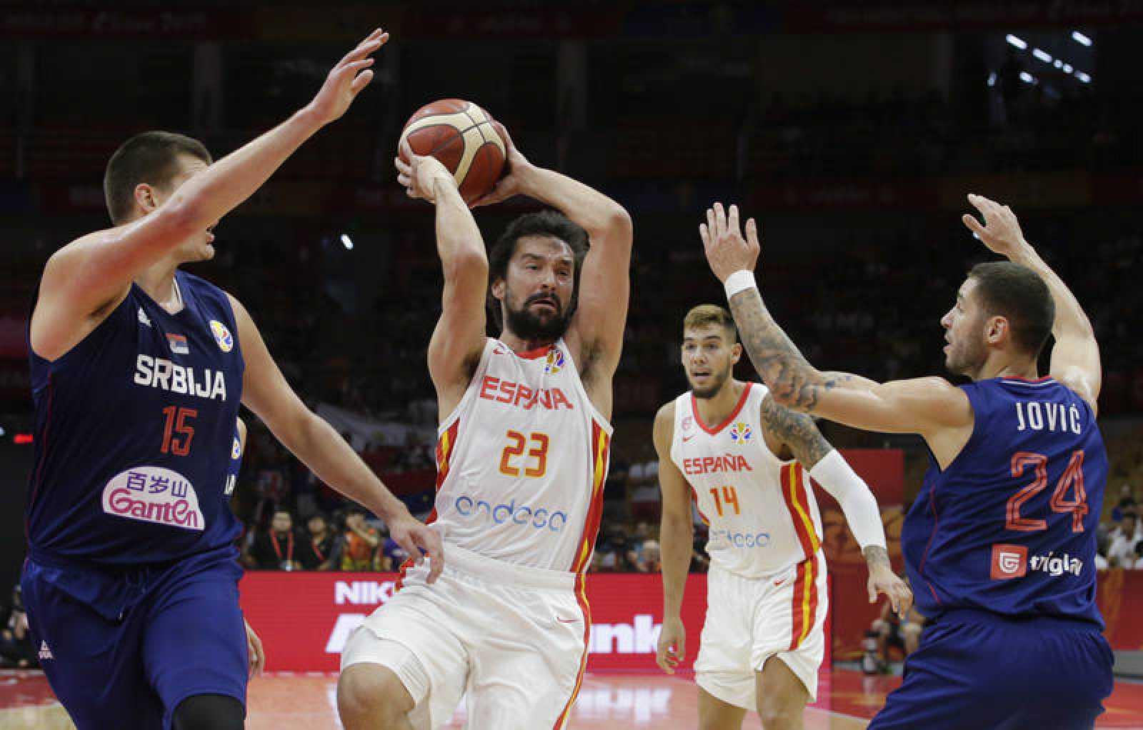 España vs Serbia