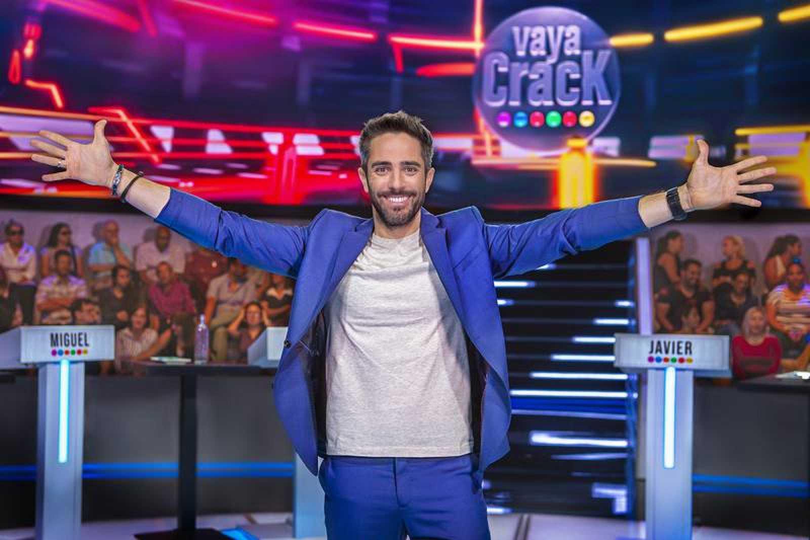 Roberto Leal se pone al frente del concurso familiar 'Vaya crack'