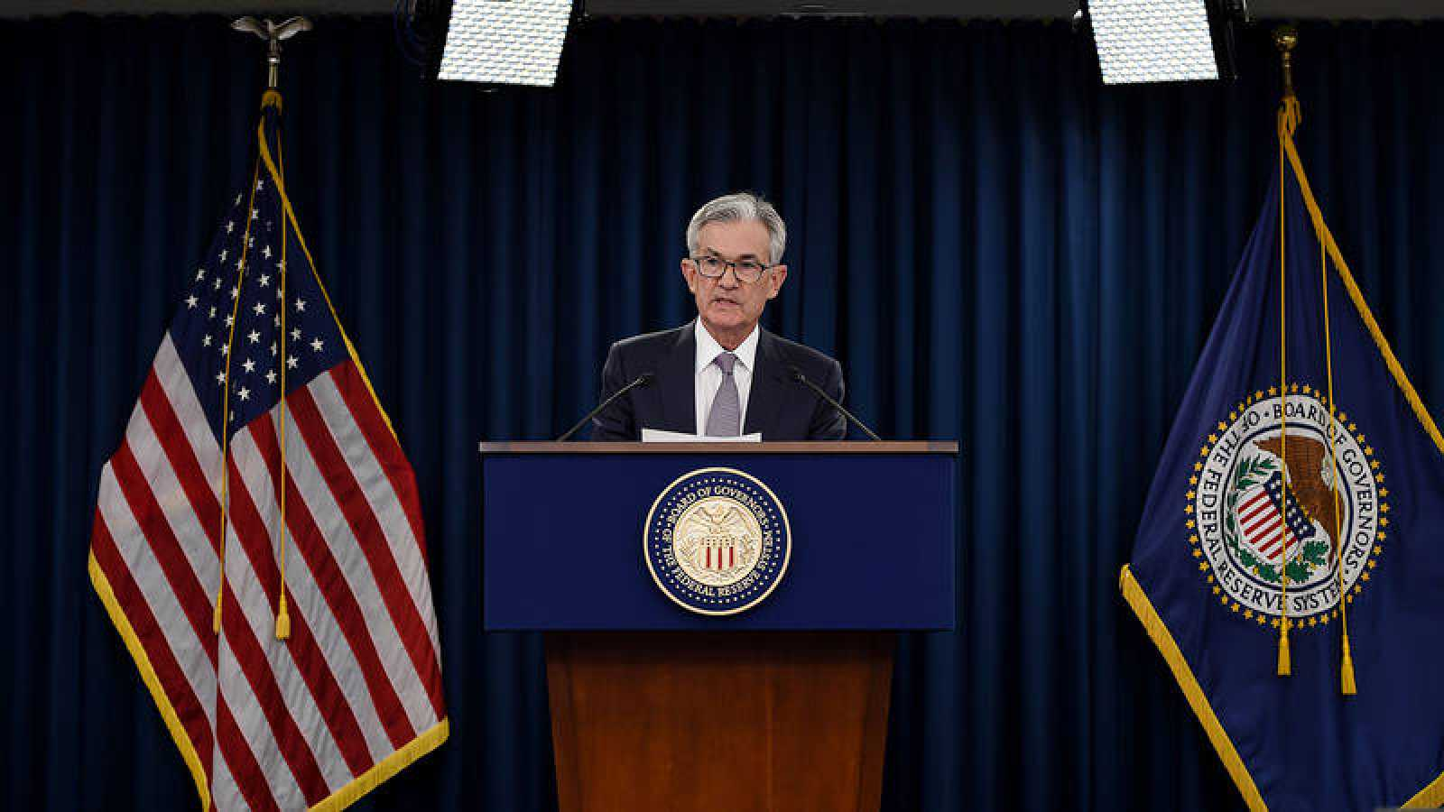 El presidente de la Reserva Federal, Jerome Powell.