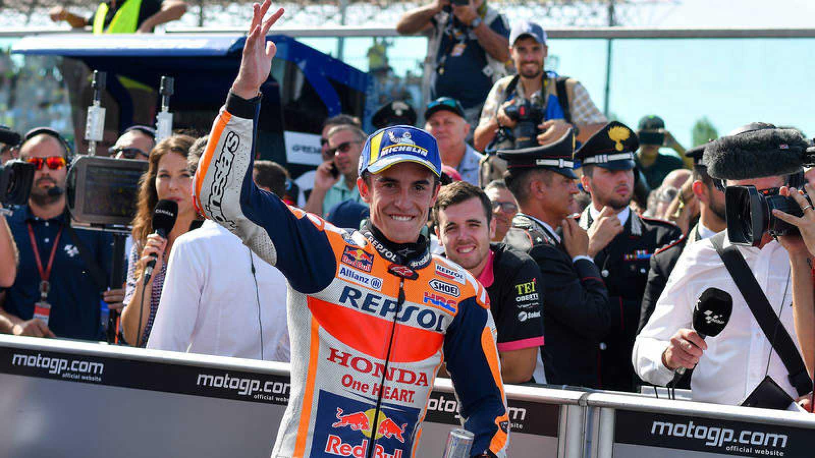 Márquez busca apuntalar el Mundial de MotoGP en Aragón
