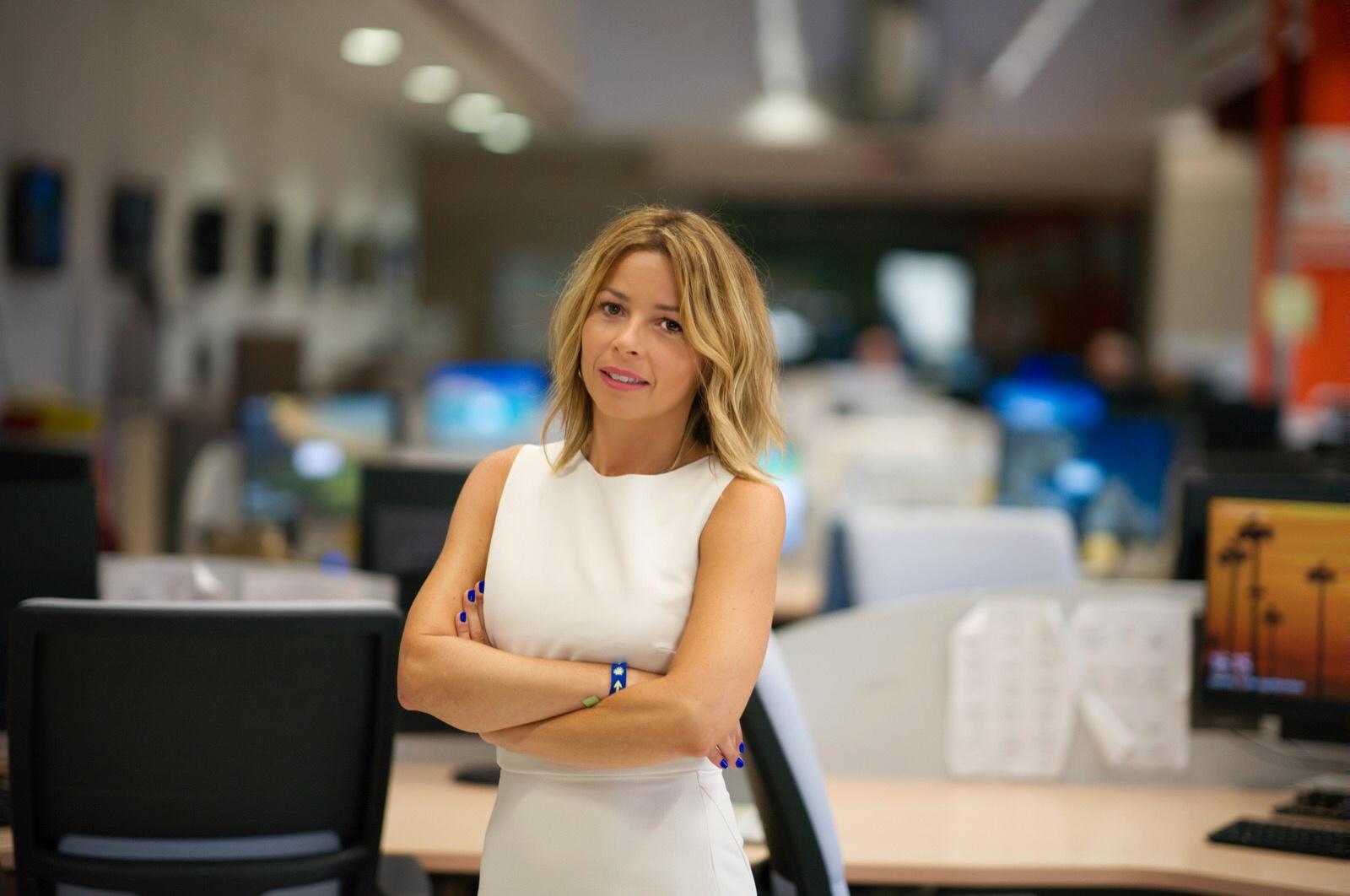Marta Sugrañes, presentadora Vespre 24