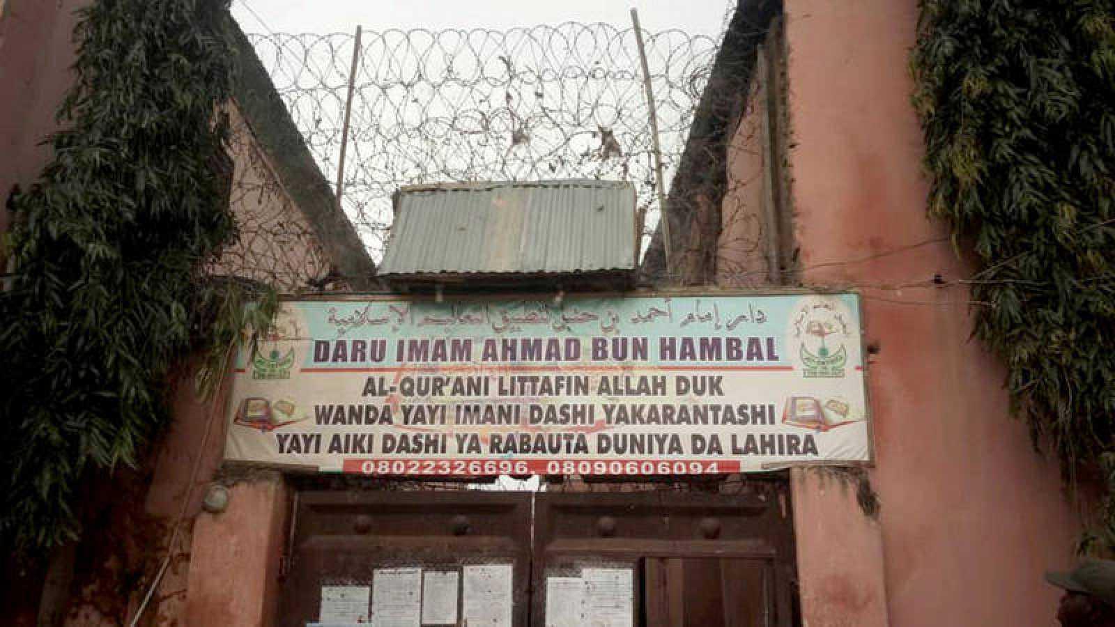Imagen de la fachada de la supuesta escuela coránica dónde se han liberado a más de 300 personas encadenadas
