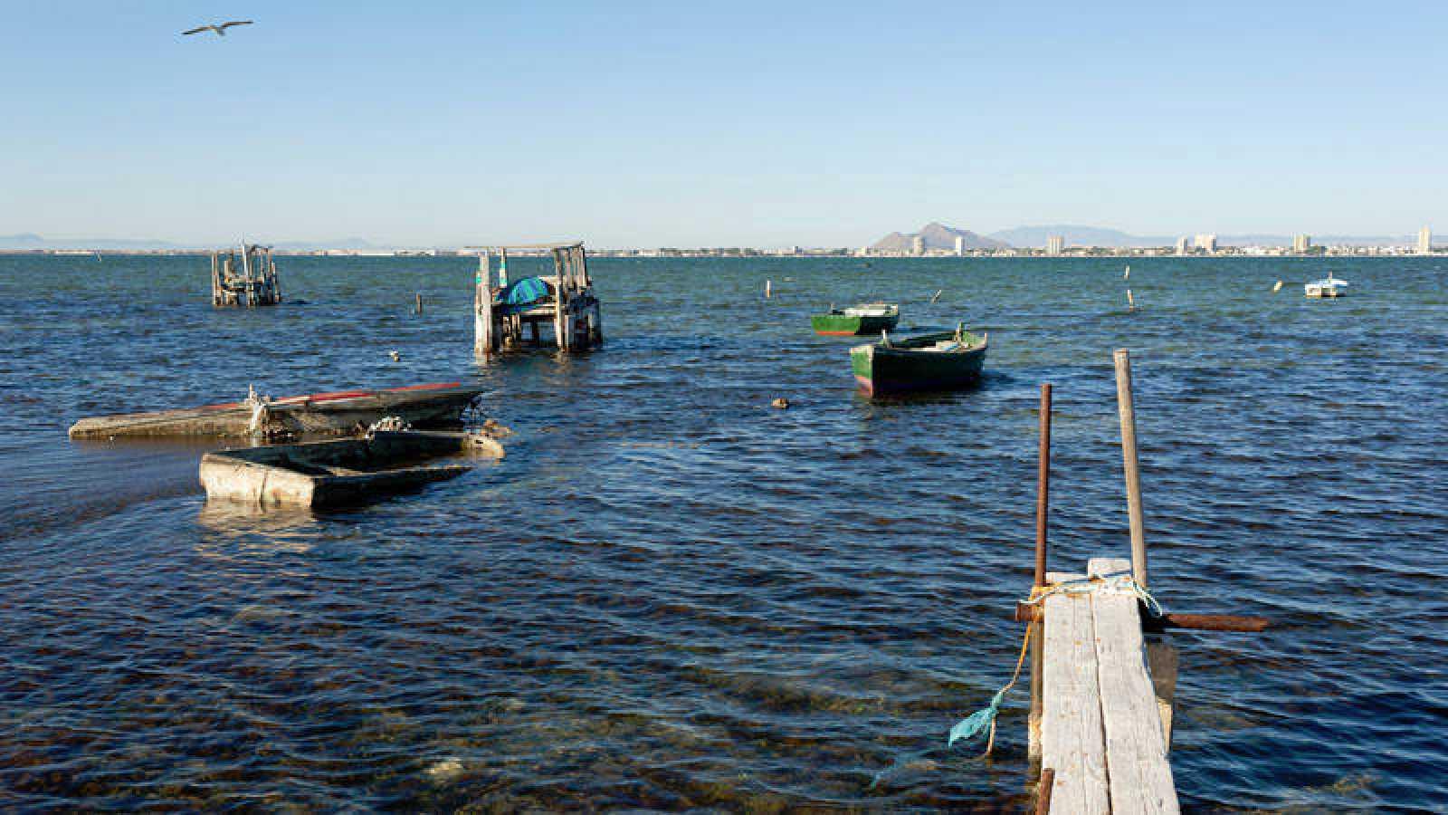 El Mar Menor esla mayor laguna litoral española.