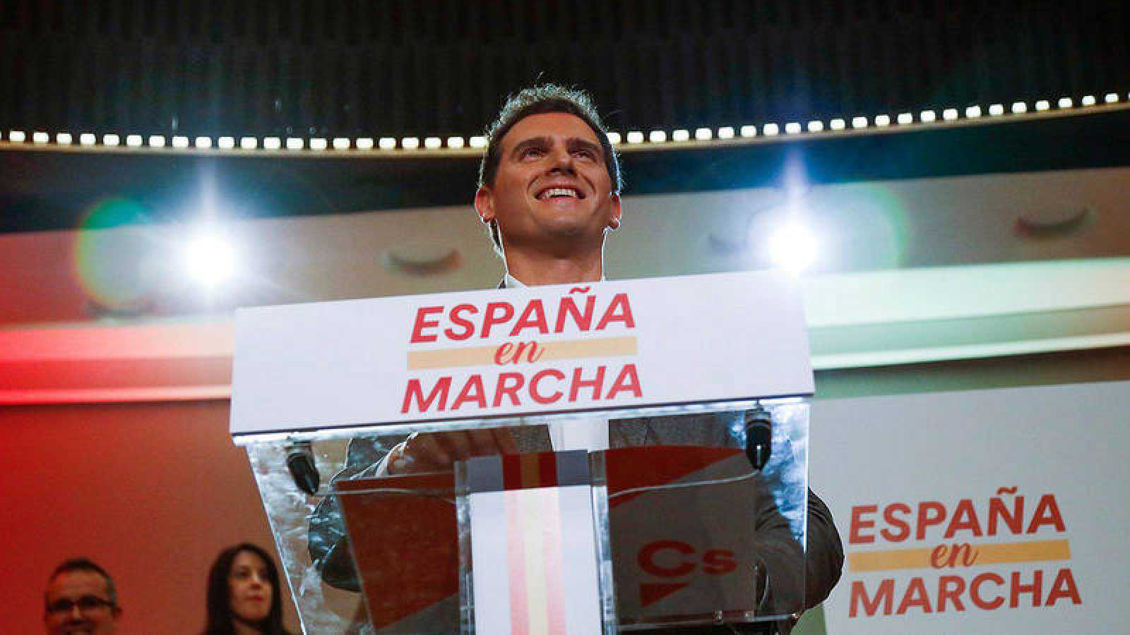 El líder de Ciudadanos, AlbertRivera. EFE/David Fernández