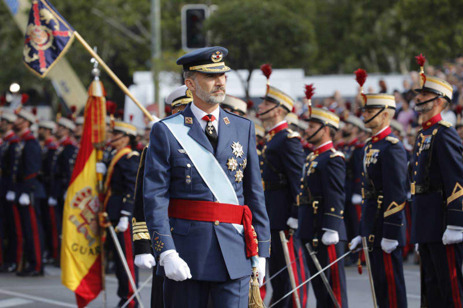 El desfile, en RTVE