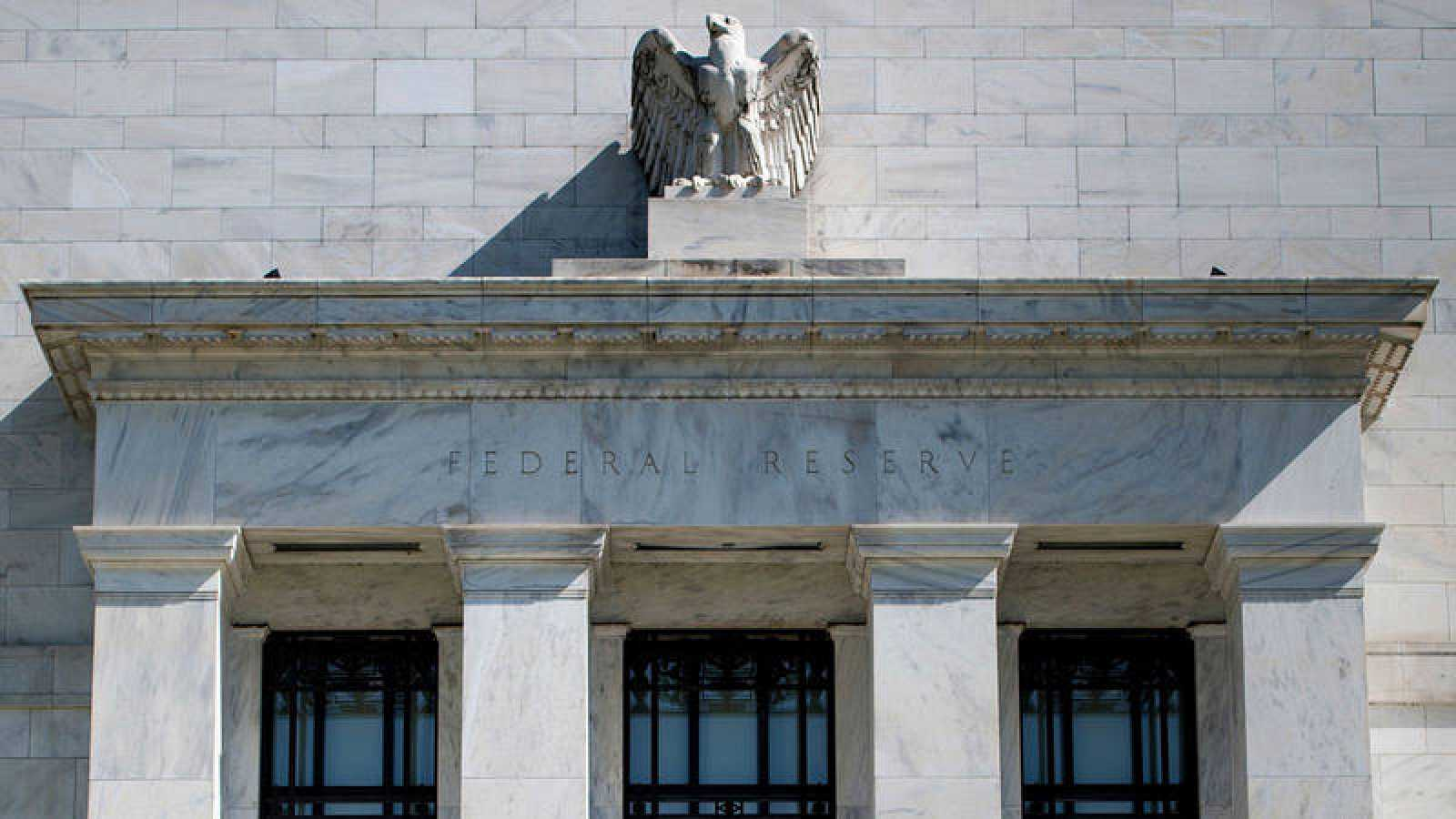 Imagen de archivo de la Reserva Federal de Estados Unidos situada en  Washington.