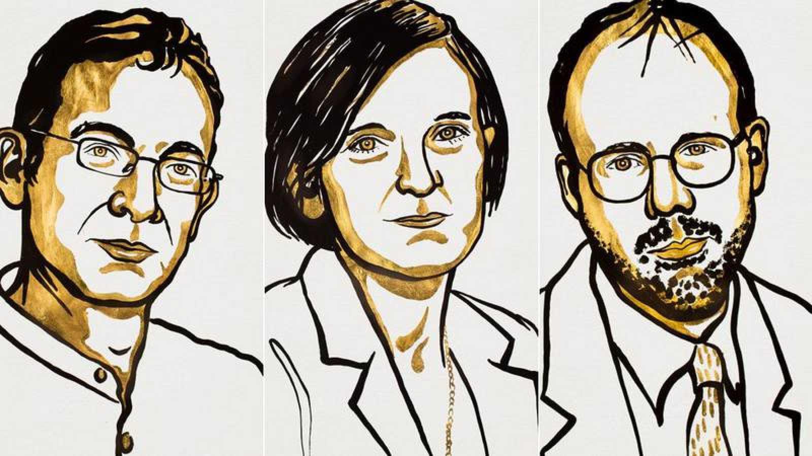 Abhijit Banerjee, Esther Duflo yMichael Kremer, galardonados con el Nobel de Economía
