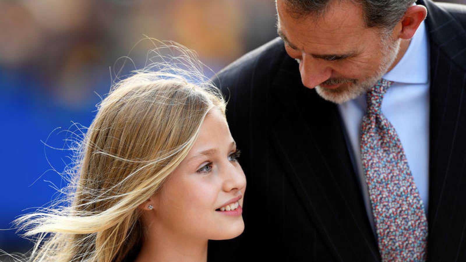 Leonor ofrece su primer discurso en la entrega de los Premios Princesa de Asturias