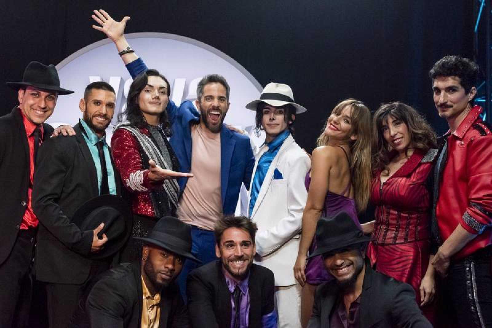 Los bailarines del musical Forever, invitados de este sábado