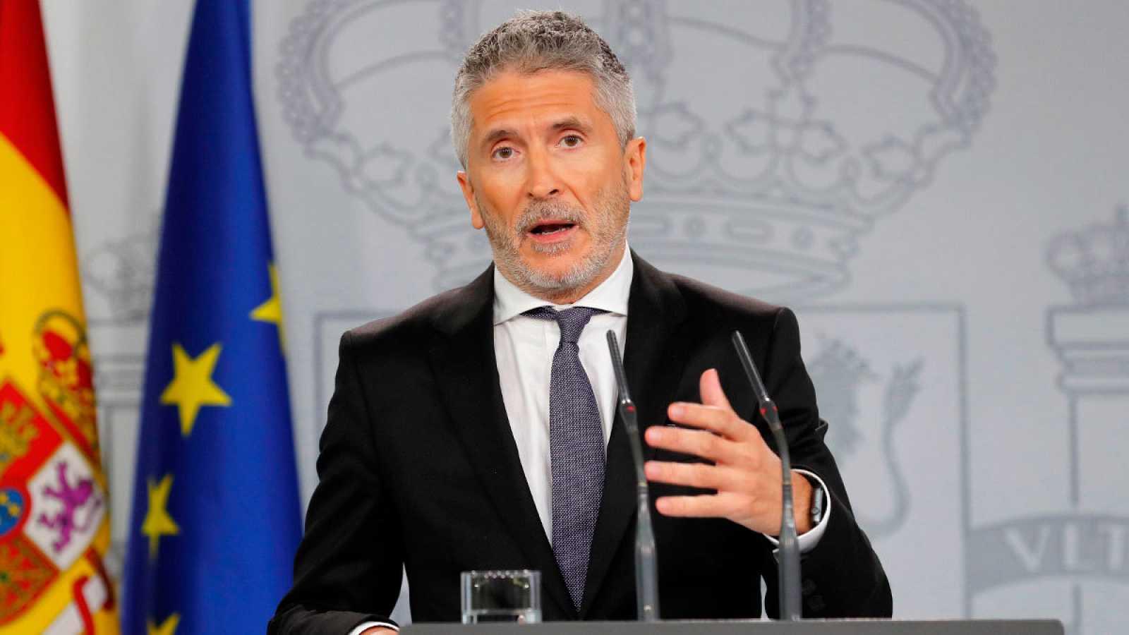 Imagen de archivo del ministro del Interior en funciones, Fernando Grande- Marlaska