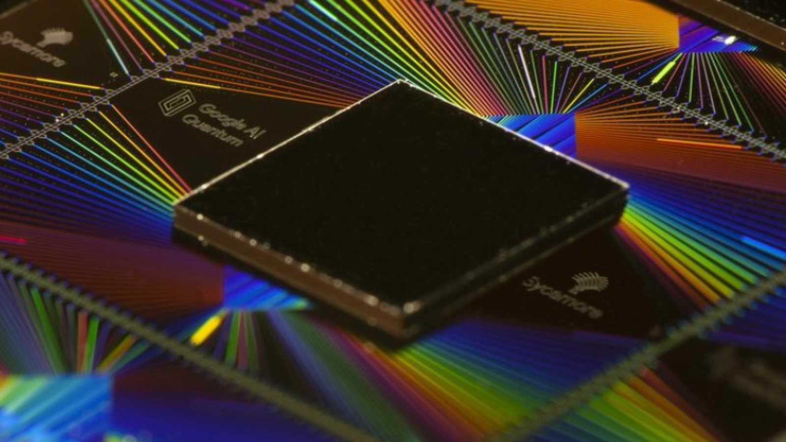 ProcesadorSycamore con el que Google ha alcanzado la supremacía cuántica.
