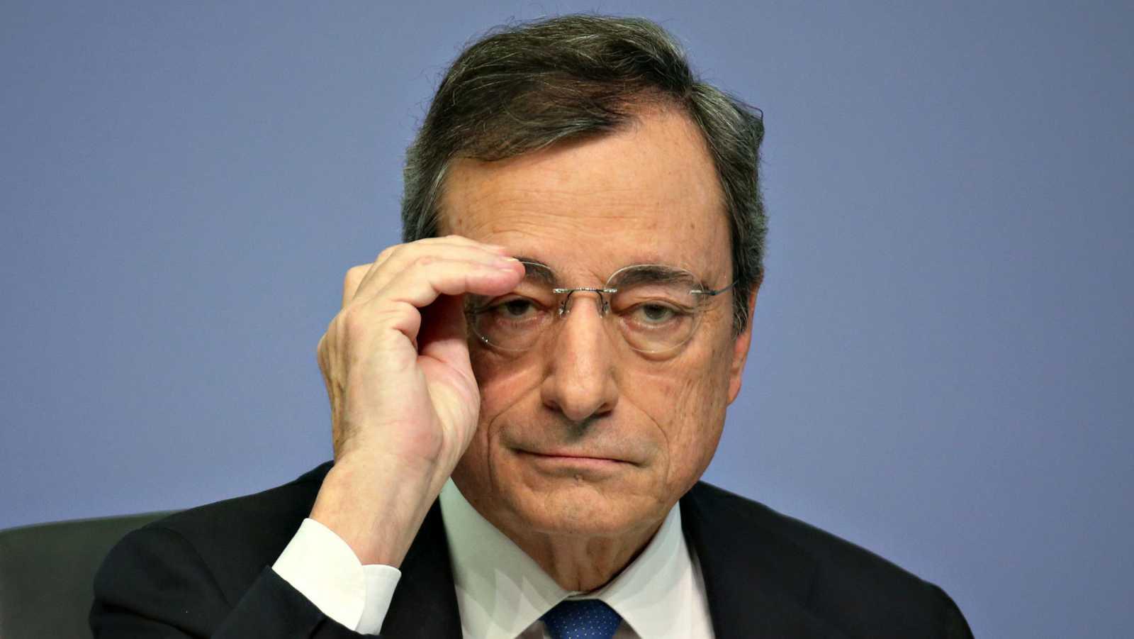 El presidente saliente del Banco Central Europeo, Mario Draghi