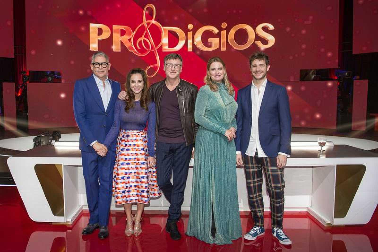 Boris Izaguirre, Paula Prendes, Nacho Duato, Ainhoa Arteta y Andrés Salado