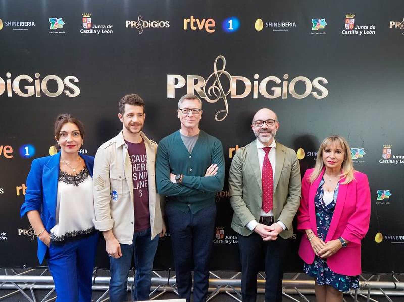 Ana Rivas, Andres Salado, Nacho Duato, Javier Ortega y Toñi Prieto