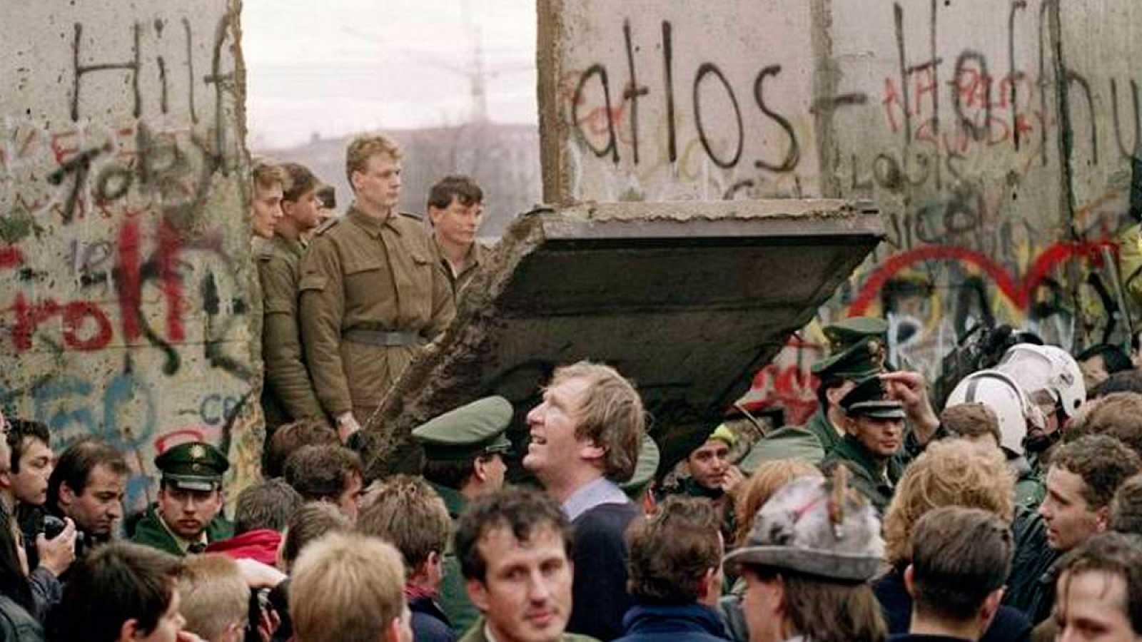 La mañana del 10 de noviembre de 1989, en Berlín