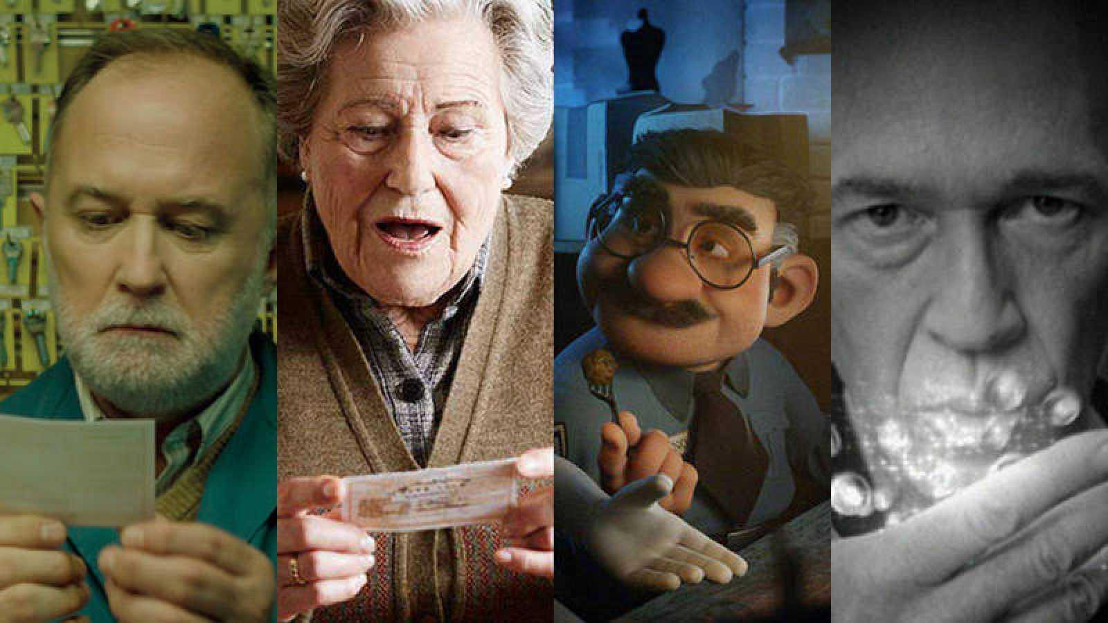 Algunos protagonistas del anuncio de la Lotería de Navidad
