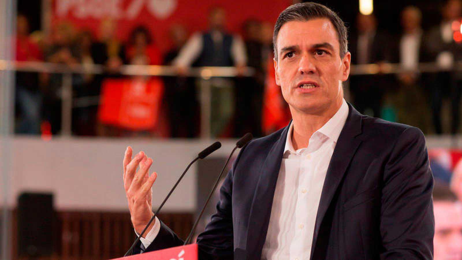 El presidente del Gobierno en funciones y candidato a la reeleción el 10N, Pedro Sánchez.